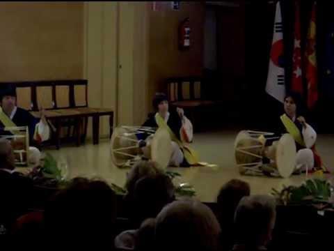 Exhibición de Jang-gu en el Real conservatorio de Música