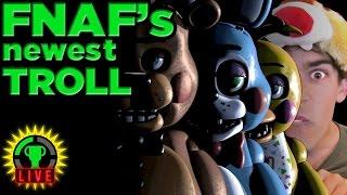 FNAF's Newest EVIL is TROLL Pat! - Five Nights at Freddy's 2