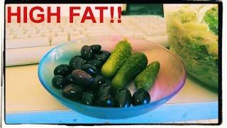 What I ate today. High fat vegan diet! Low carb vegan vs paleo.