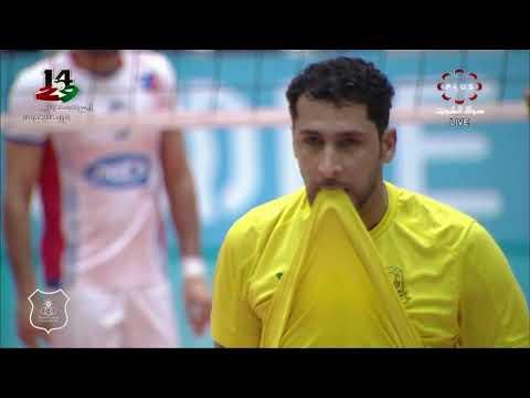 لقطات مباراة الكويت 3 × 2 السيب العماني ـ البطولة الخليجية للأندية الأبطال لكرة الطائرة 2019 ـ 2020