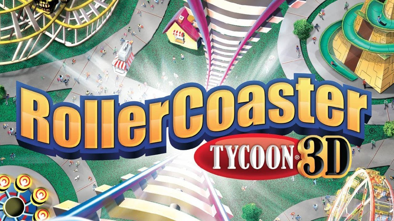 CGRundertow ROLLERCOASTER TYCOON 3D for Nintendo 3DS Video Game Review