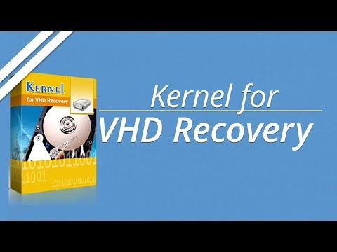 VHD Data Recovery Software for repairing & recovering corrupted VHD file