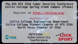 Lock Sport Promo #NTXISSACSC6 Oct 5th Conference