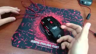 EVEREST SGM-X7 GAMING MOUSE / Kutu Açılımı ve İnceleme