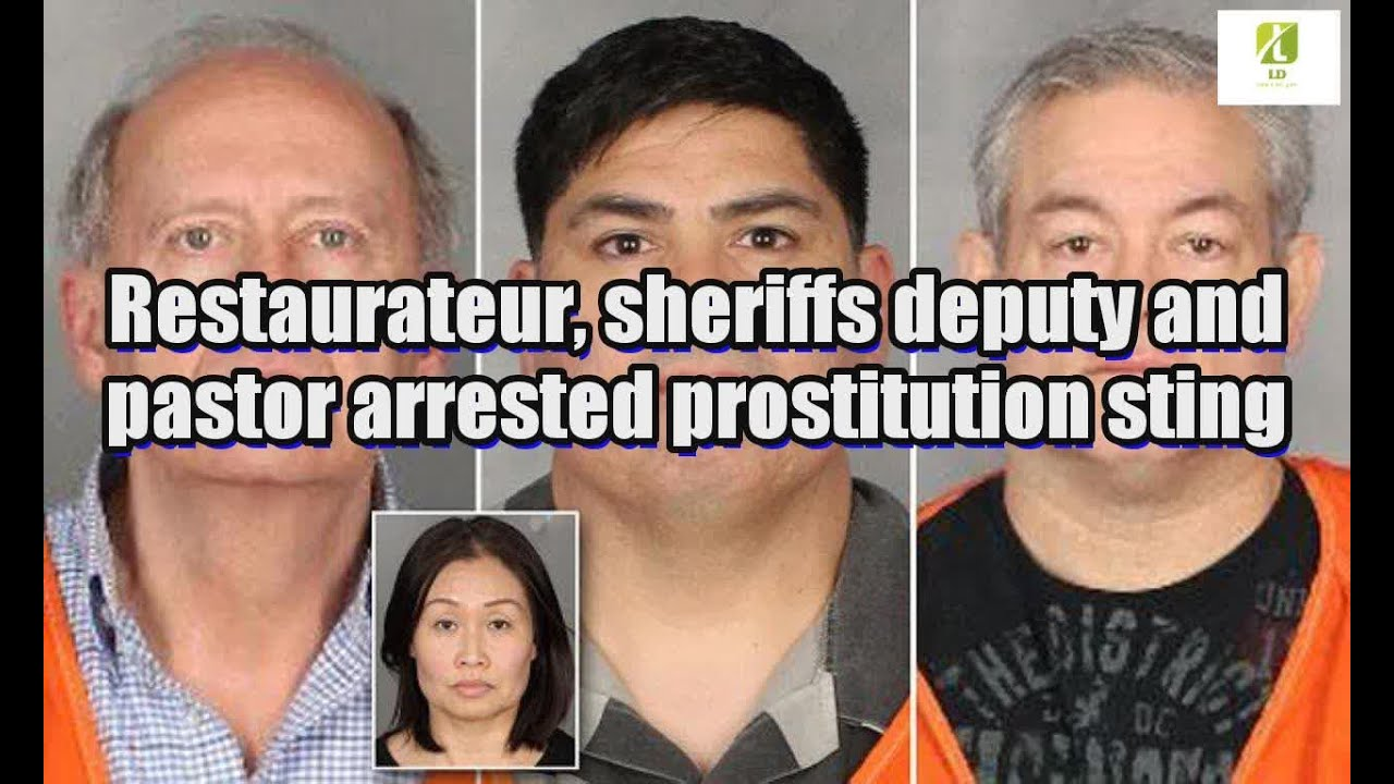 Restaurateur, sheriffs deputy and pastor arrested