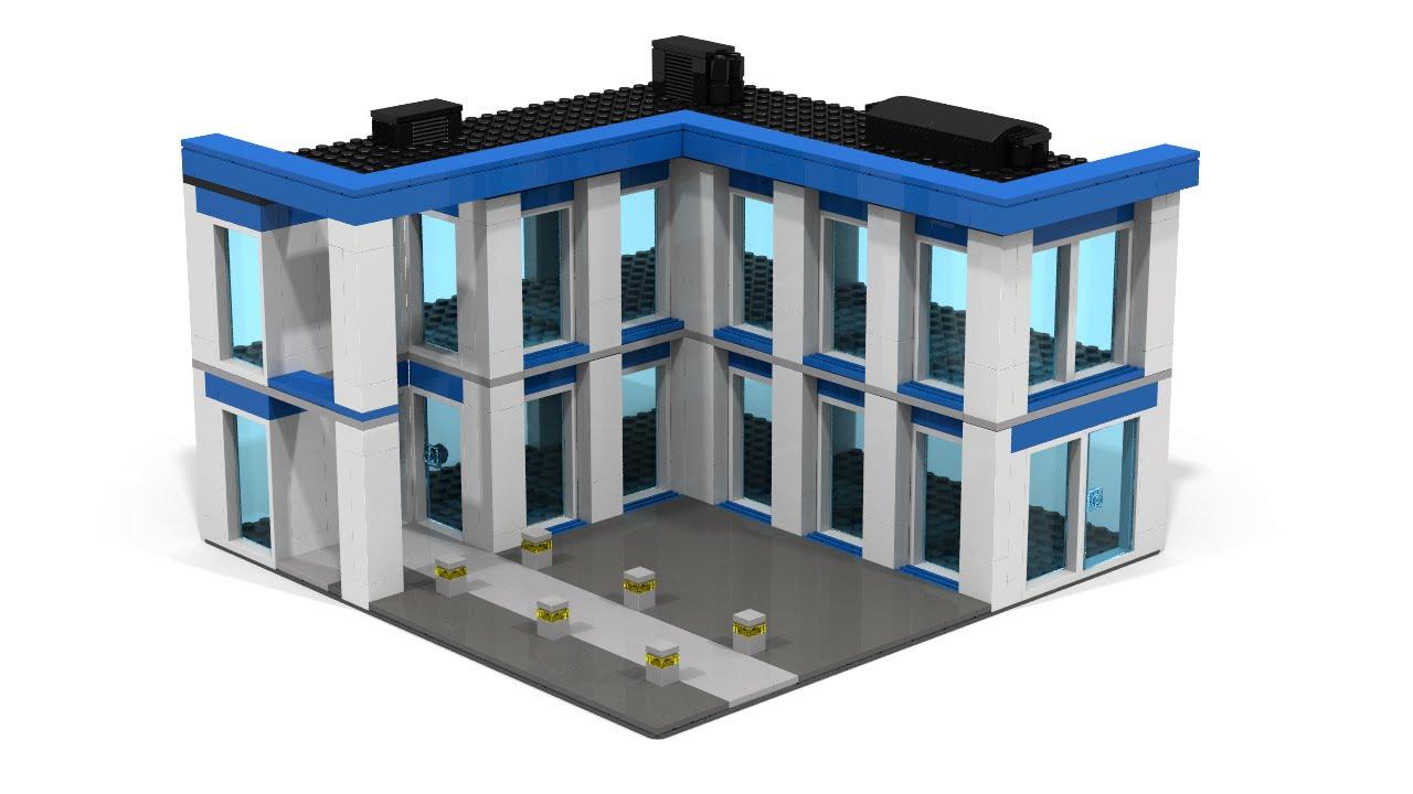 LEGO City Police Station MOC Instructions - YouTube