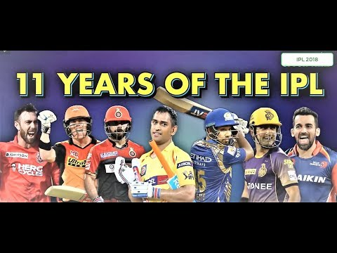 11 Years of IPL (Indian Premier League)