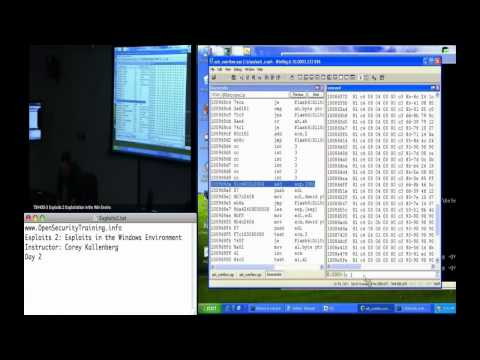 Day 2 Part 2: Exploits 2: Exploits in the Windows Environment