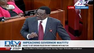 Senators have power to remove president and DP, Orengo reminds colleagues