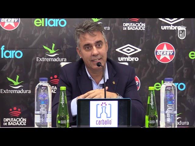 Joaquín Parra habla sobre los abonos de 2ª vuelta