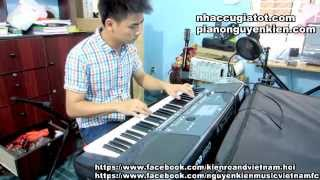 Đàn Organ  Dây Đủng Đỉnh Buồn Slow vs Remix - Nguyễn Kiên