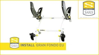 Saris Gran Fondo Bike Carrier - How To Fit - Rear Mounted Bike Carrier