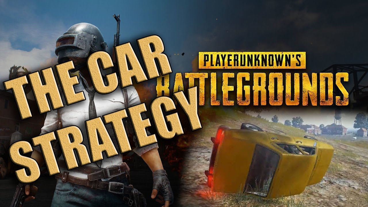 pubg the car strategy to win the game lol youtube