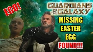 Meredith Quill & Ego, The Knowhere Man | Guardians of the Galaxy Missing Easter Egg