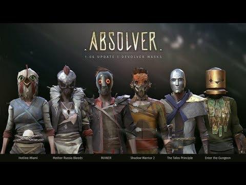 Absolver 1.06 Update | Devolver Masks