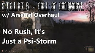 S.T.A.L.K.E.R. - Call of Chernobyl w/ Arsenal Overhaul - No Rush, It's Just a Psi-Storm