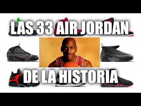 corriente Dando nacido  Todas las Air Jordan de la historia: ¿con cuál te quedas? I MARCA - YouTube