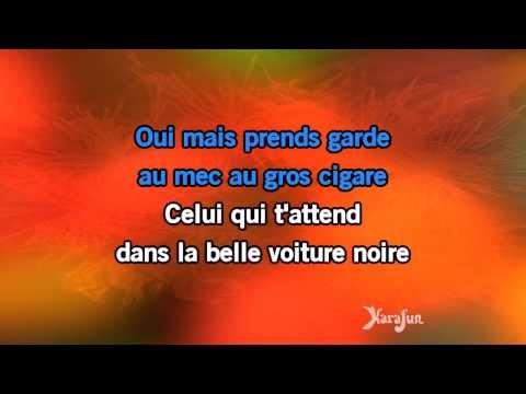 Karaoké Mon P'tit Loup (ça Va Faire Mal) - Johnny Hallyday *