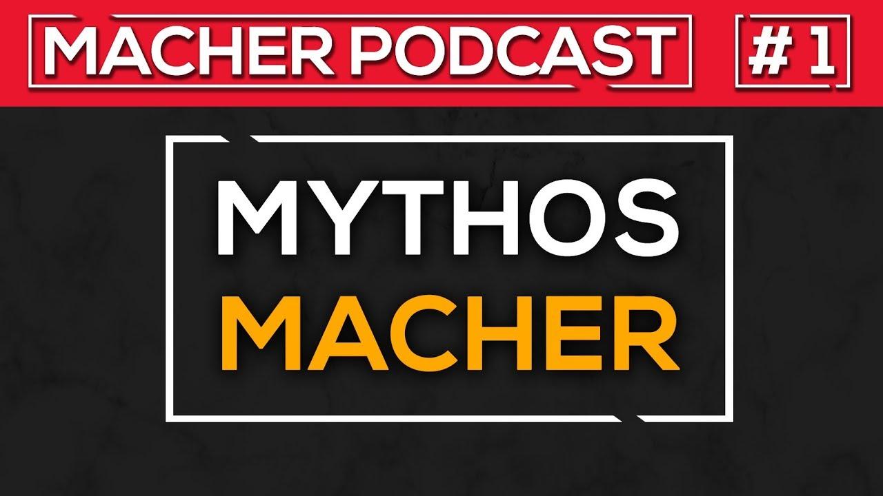 🎙️ Mythos Macher 1/4 ▪️  Sitzenbleiben ▪️ Auszug mit 16 ▪️ Auswandern ▪️ Kindheit