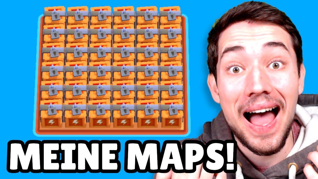 Ihr müsst MEINE MAPS spielen! 😂 Brawl Stars Challenge