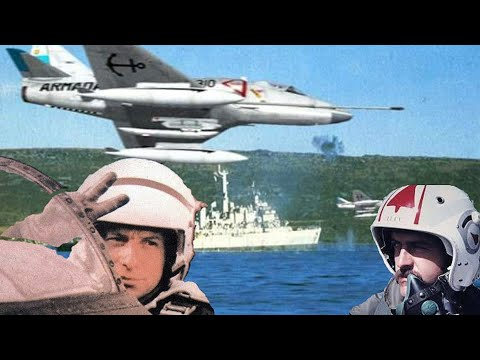 Mejores Pilotos Del Mundo Y Última Batalla Aeronaval De La Historia - Malvinas