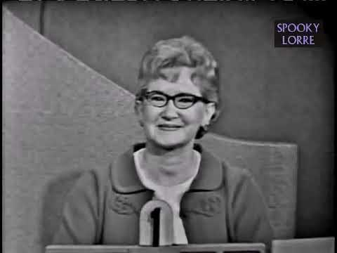 To Tell the Truth  Search for Bridey Murphy Apr 4, 1966 Mp3