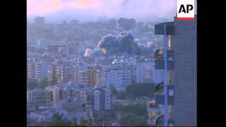 Video More explosions in Beirut suburbs after air strikes download MP3, 3GP, MP4, WEBM, AVI, FLV Oktober 2018