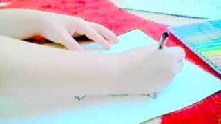 Рисуем Нюшу из смешариков видео уроки