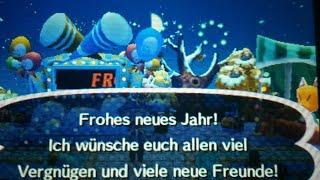 Ins neue Jahr in Animal Crossing New Leaf feiern!