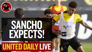 Sancho Stalemate: Player 'Expects' Move!   Man Utd Latest News