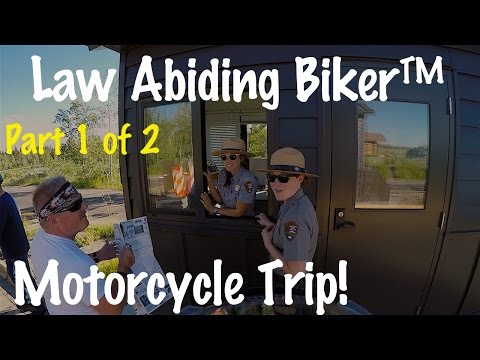 PT 1-Motorcycle Trip Documentary Movie Colorado, Utah, Wyoming, Idaho, Oregon, Washington