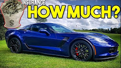 HOW EXPENSIVE IS CAR INSURANCE For My 650HP Corvette Z06