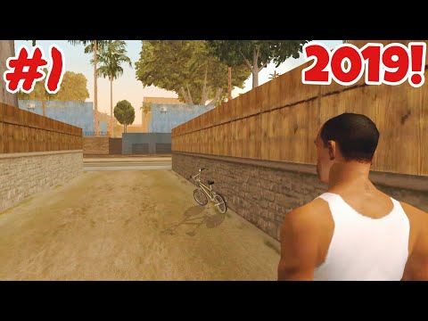 GTA San Andreas Mobile In 2019...|Grand Theft Auto San Andreas Mobile Gameplay Walkthrough Ep1