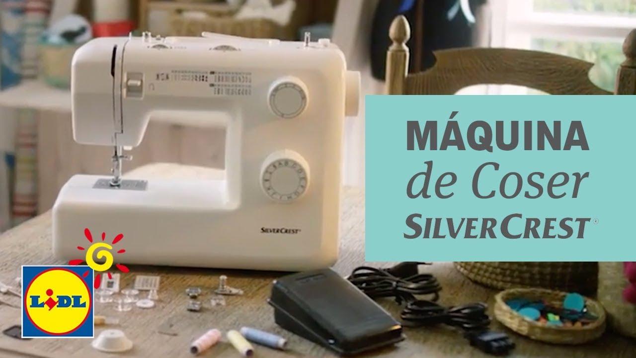 Máquina de Coser Silvercrest - Lidl España - YouTube