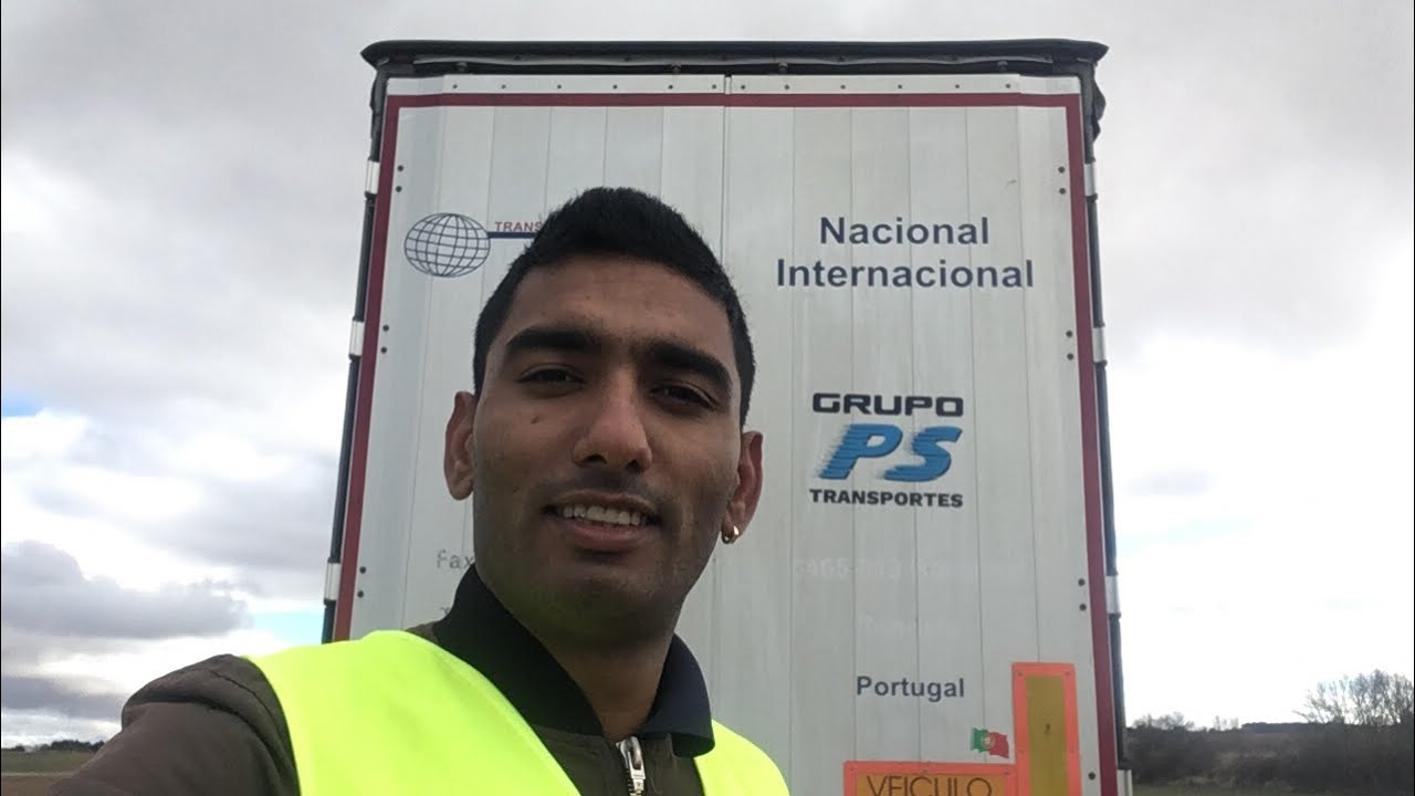 Portugal Truck driver salary - YouTube