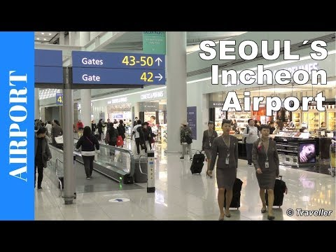 Seoul Incheon Airport Tour | Seoul Airport | Transit at Incheon Airport, South Korea