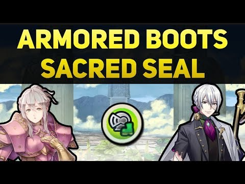 Showcasing the Armored Boots Sacred Seal (How Does it Work?)
