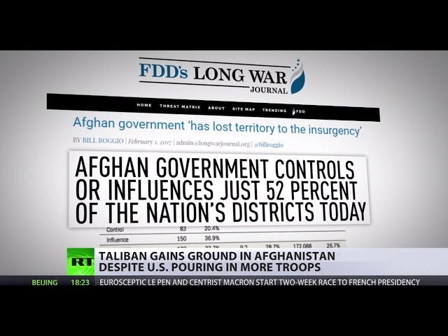 'Addition Forces': US beats war drums as Taliban gains ground in Afghanistan