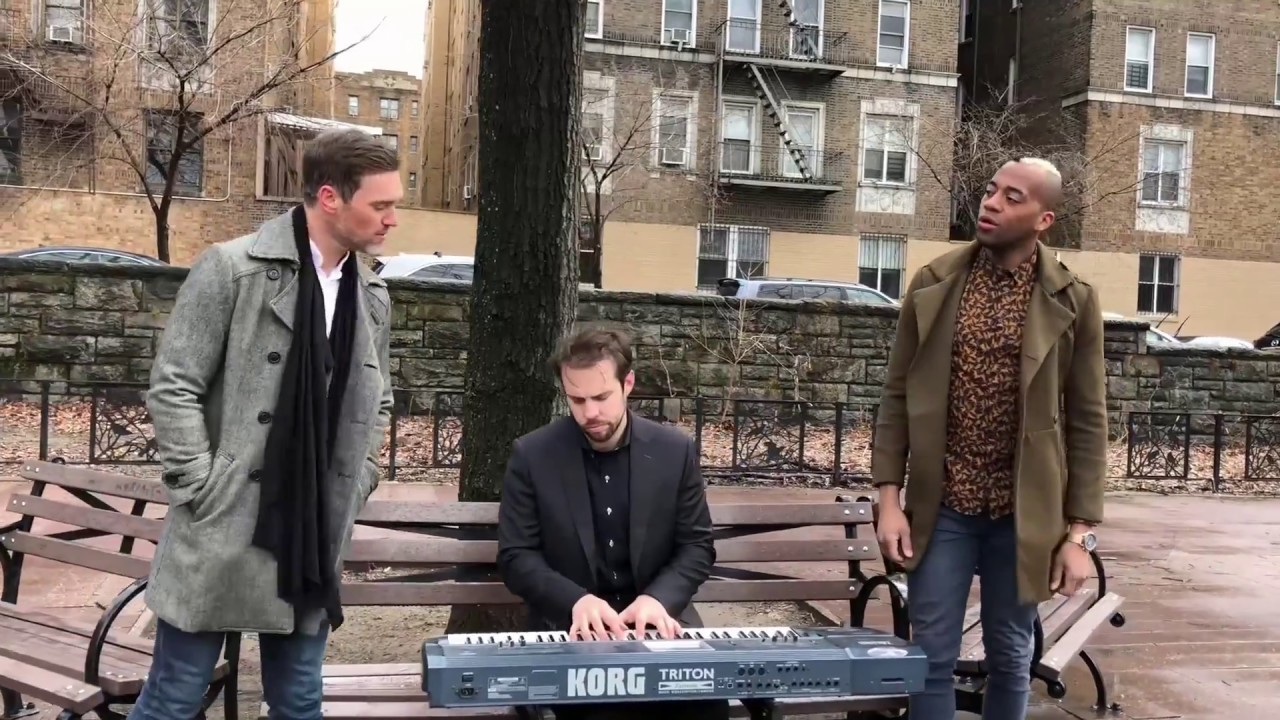 Download So Close - Enchanted/Jon McLaughlin - 7th Ave (Unplugged duet) ft. Jerome Bell (OneUpDuo)