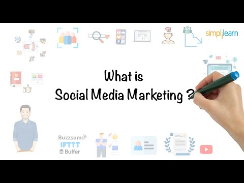 Social Media Marketing In 5 Minutes | What Is Social Media Marketing? [For Beginners] | Simplilearn