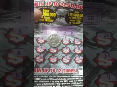 Huge winner. cash reserve scratch off