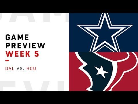 Lynn Hernandez - #NFL Week 5: Dallas vs Houston preview in 90 seconds