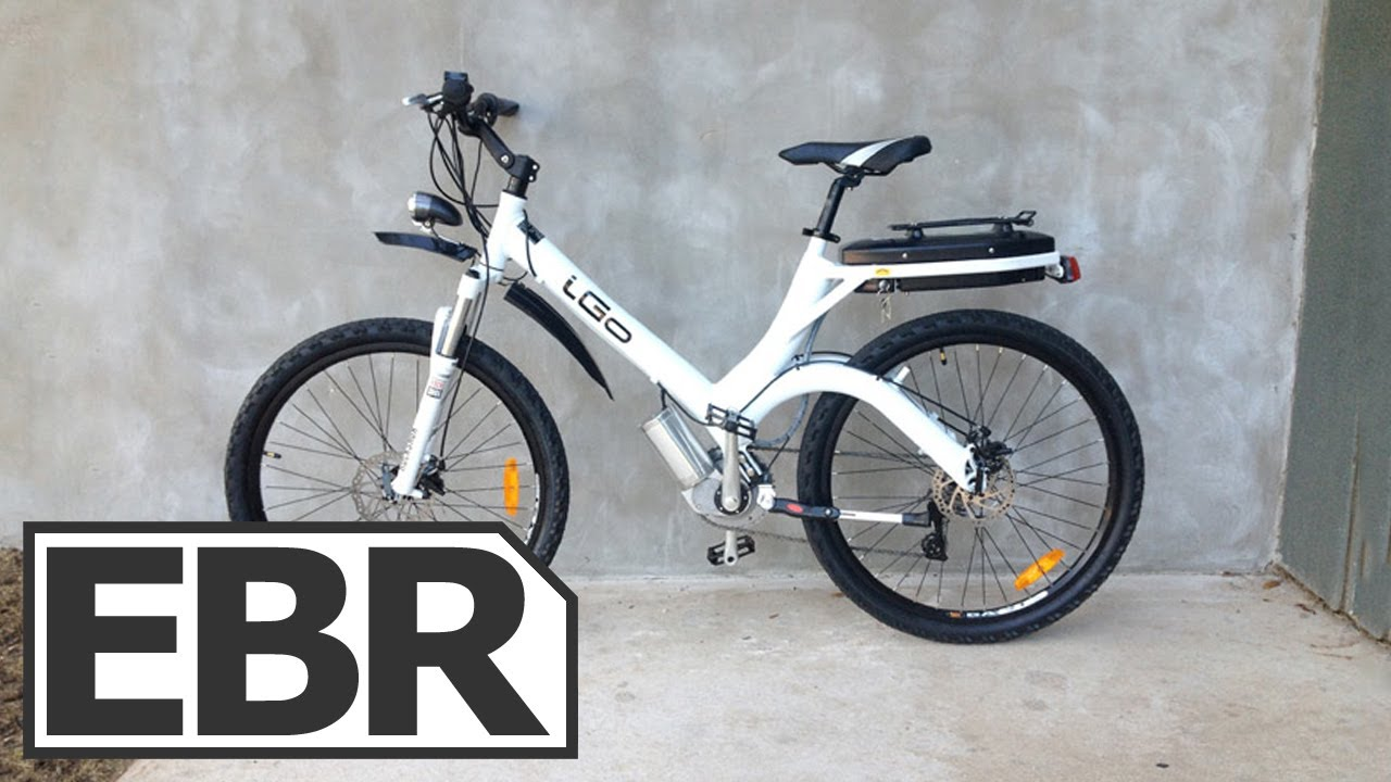 Electric Motor For Bicycle >> iGO Urban Electric Bike Review - YouTube