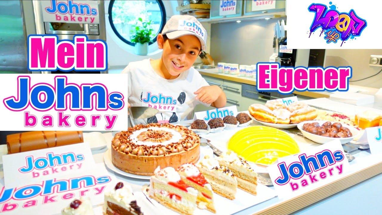 JOHNs BAKERY 🎂 | Mein eigenes Restaurant Konditorei zuhause in der Küche | Johann Loop