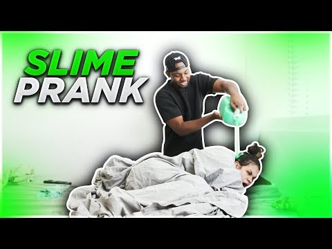 SLIME PRANK ON MY EX GIRLFRIEND!! 😱😈
