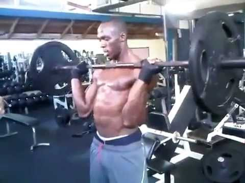 Usain Bolt Abs Workout Usain Bolt practice we...