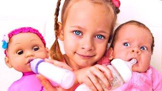 Ich will wie Mama sein  + Kindergeschichten mit Spielzeug