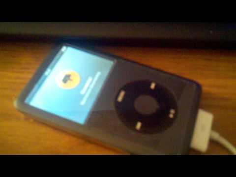 Corrupted iPod Classic 120GB (9/7/11)