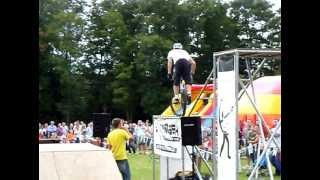 Danny MacAskill Lands Hardest Bike Trick In World