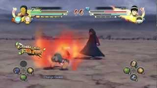 Naruto Ultimate Ninja Storm 3: Combo/Tilt Cancel Tutorial - MASKED MAN
